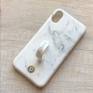 Accessories - IPhone X/xs white loopy case